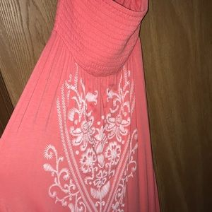 Vanity Strapless New With Tags SOFT Maxi Beautiful